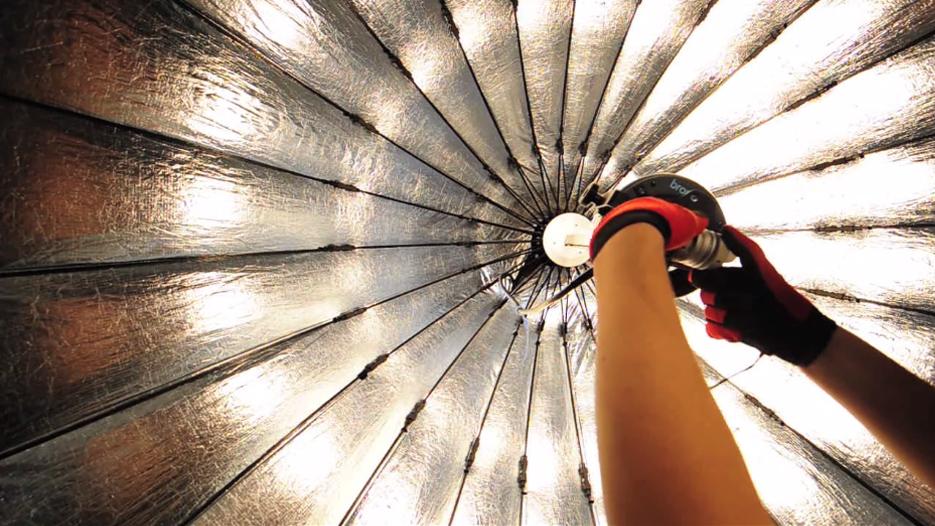 Modelowanie światłem Studyjnym Szeroki Kadr